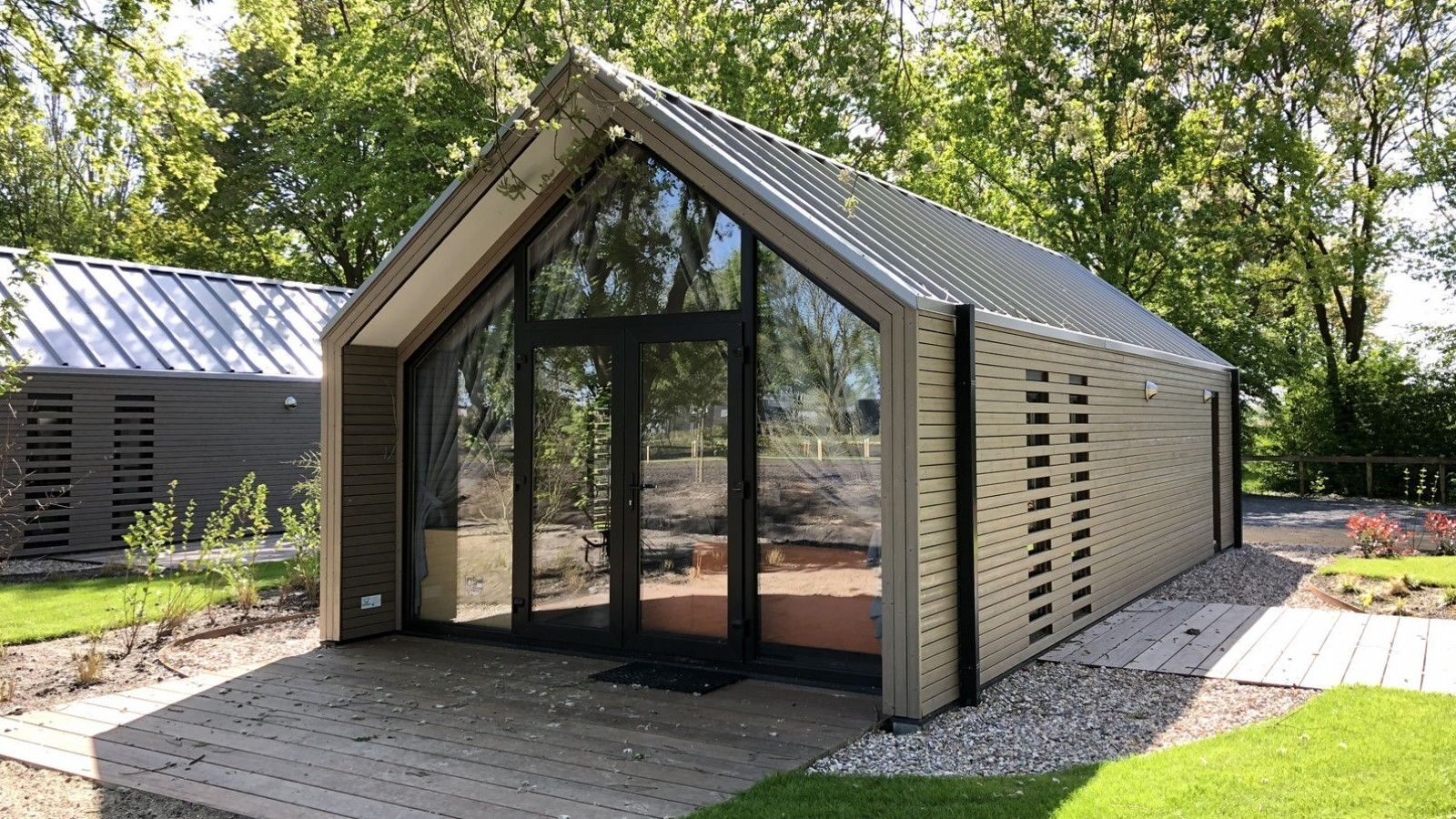 Vakantiepark BadHoophuizen Type TH Beach Edition: 2 persoons Tiny House