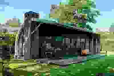 vakantiehuisje met sauna in Putten