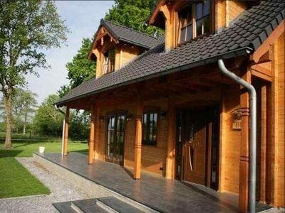 Zeer luxe 6 persoons vakantievilla op kleinschalig vakantiepark in Overijssel.