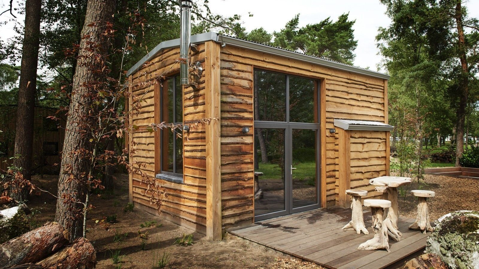 DroomPark de Zanding Type TH: 4 persoons Tiny House Plus